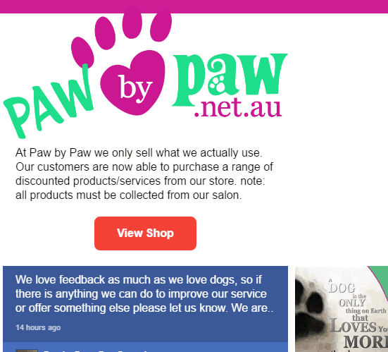 Paw By Paw custom post